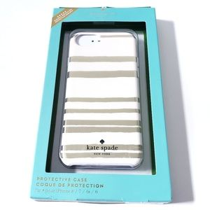 NEW Kate Spade iPhone 8, 7, 6 & 6s Cell Phone Case
